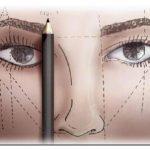 A maquiagem das sobrancelhas