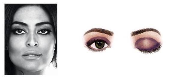 Foto mostrando um rosto com olhos pequenos