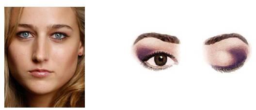Foto mostrando um rosto com olhos juntos