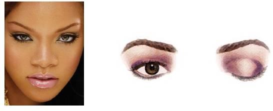 Foto mostrando um rosto com olhos separados