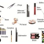 Equipamentos e produtos de maquiagem
