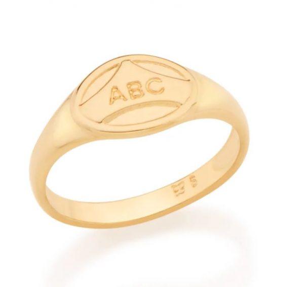 Anel Rommanel 512656 ABC