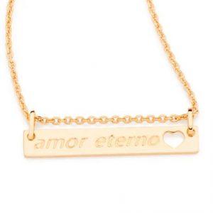 Colar Rommanel 531863 Amor Eterno