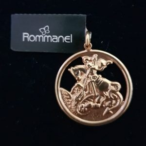 Pingente Rommanel 541256 São Jorge