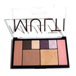 Paleta de Maquiagem Multi 3 x 1 Minhas Cores Avon