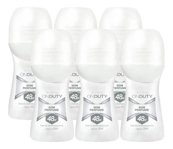 Desodorante Avon On Duty sem perfume
