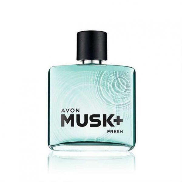 Avon Musk+ Fresh Deo Colônia